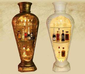 Dekorační Bar 175cm / Lampa - styl Versace / Zakázková výroba