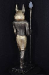 Socha / lampa ,, ANUBIS ,, 130cm Zakázková výroba