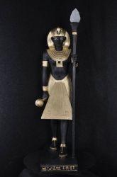 Socha  ,, FARAON ,, lampa 133cm
