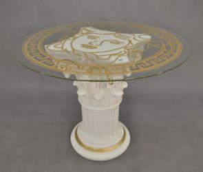 Čajový stolek - styl Versace 79cm
