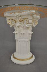Čajový stolek - styl Versace 79cm Zakázková výroba