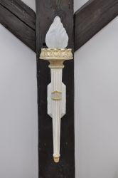 Lampa na stěnu 57cm Zakázková výroba
