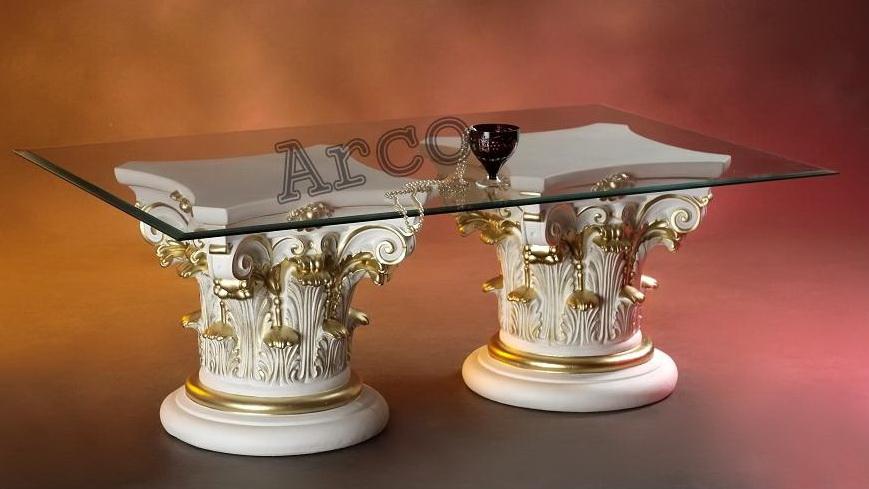 Konferenční stůl - Antický styl Zakázková výroba