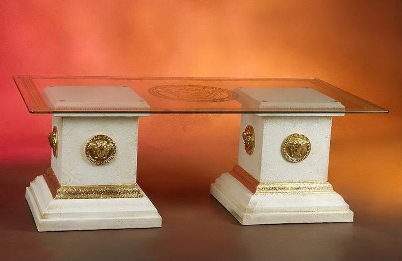 Konferenční stůl - styl Versace Zakázková výroba