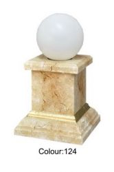 Solární lampa - koule 30cm Zakázková výroba