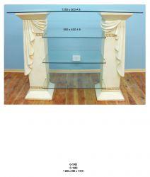 Dekorační TV/HiFi  styl Versace 125cm