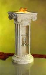 Antický sloup / bar / lampa - 99 cm