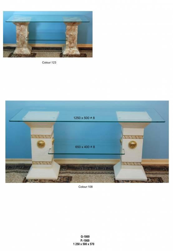 Dekorační TV/HiFi ,, styl Versace ,, Zakázková výroba