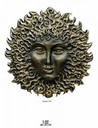 Závěsný dekor slunce - 48cm