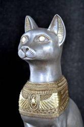 Bastet ,, Egyptská kočka ,, 74 cm Zakázková výroba