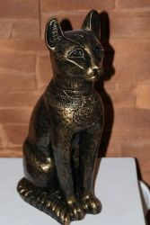 Bastet ,, Egyptská kočka ,, 34 cm