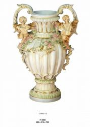 Secesní styl - Váza / Dekorace / 0868 Zakázková výroba