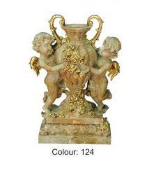 Secesní styl - Váza / Dekorace / 0867 Zakázková výroba