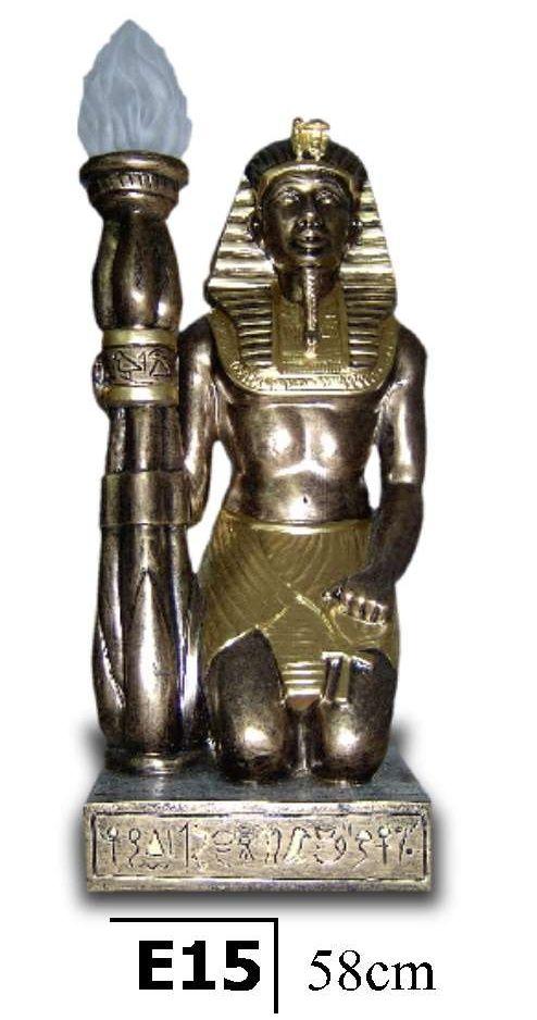 Lampa Egyptská - v pokleku / 58 cm Zakázková výroba