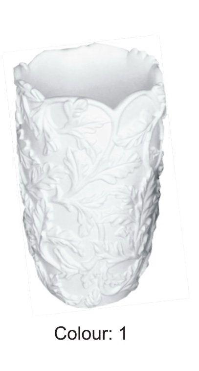 Váza s lístkama 41cm Zakázková výroba