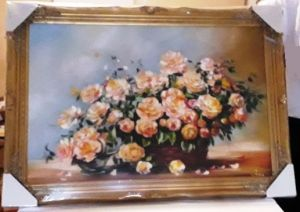 Obraz 73x104cm zlatý rám
