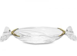 Pl dekorativní sklo + mosaz