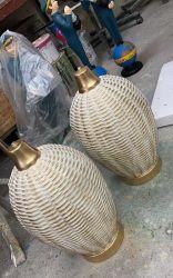 Antická lampa s dekorem Zakázková výroba