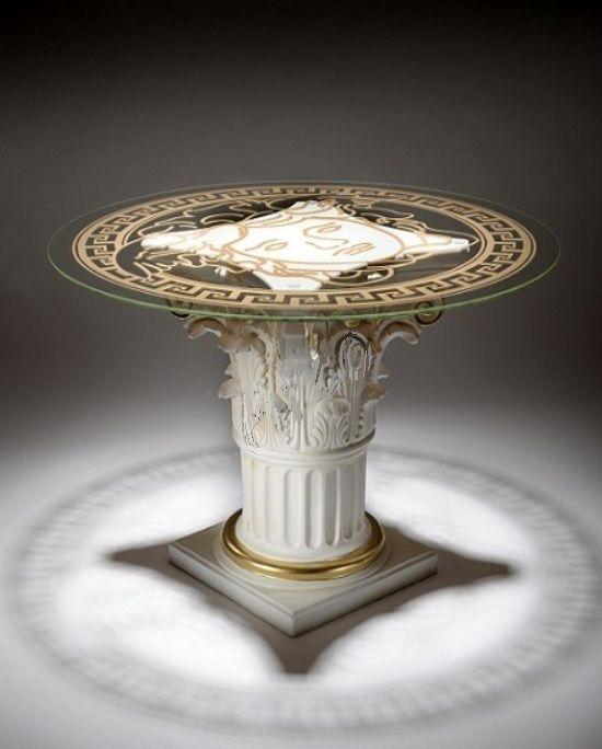 Stůl - styl Versace 74cm Zakázková výroba