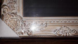 Zrcadlo s patinou 30x35cm