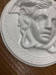 Rozeta - Meduza malá Ø 20,5cm / brokát / Zakázková výroba