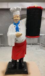 Poutač - kuchař 188cm