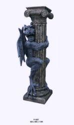 Antický  sloup - Gargol 130cm