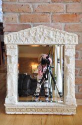 Zrcadlo - styl Versace