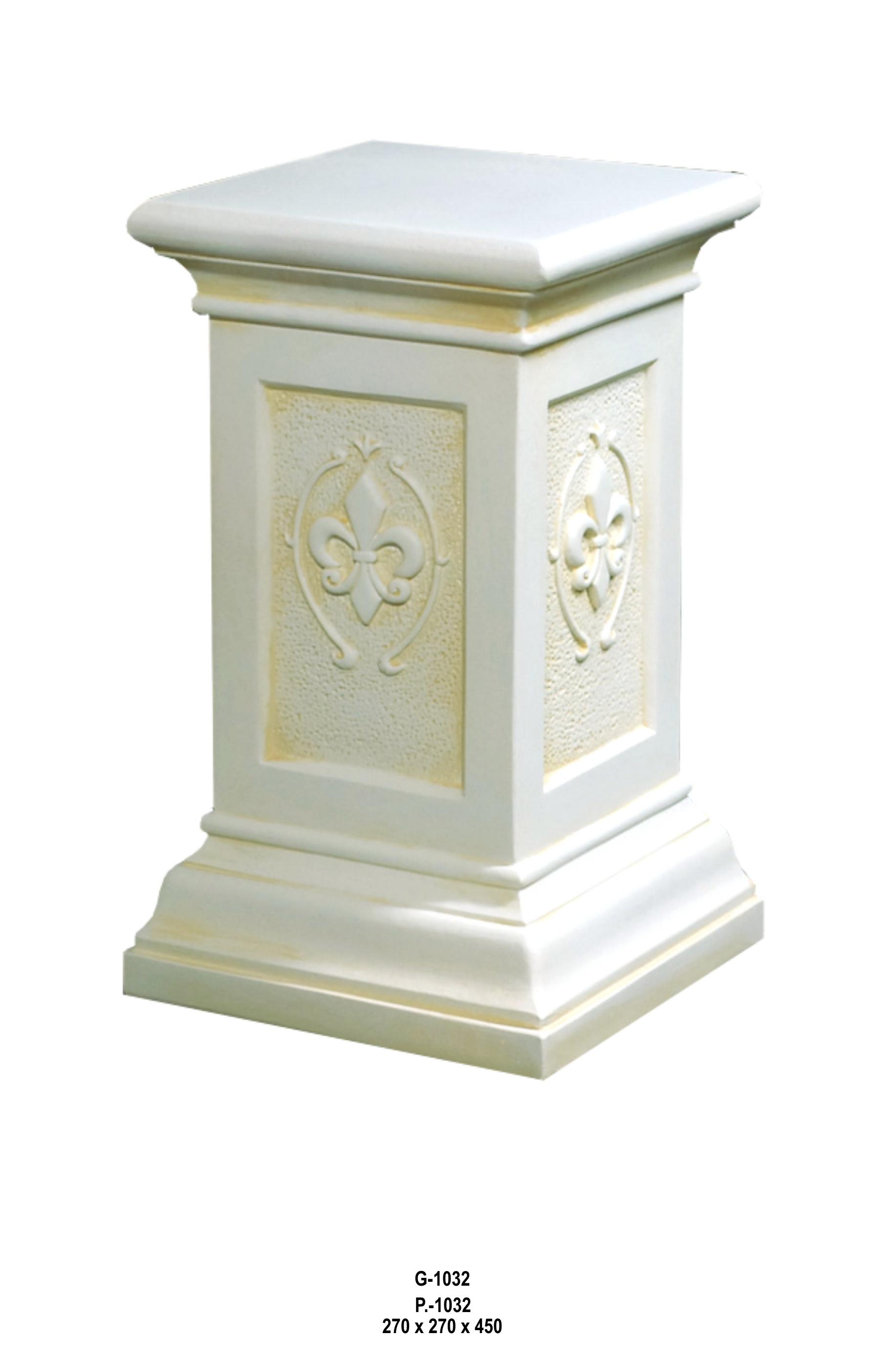 Antický dekorační sloup / 45cm Zakázková výroba