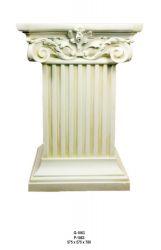 Antický dekorační sloup / 78cm