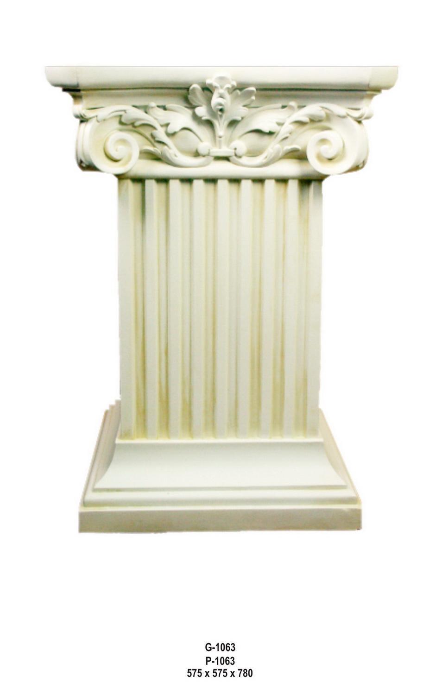 Antický dekorační sloup / 78cm Zakázková výroba