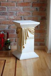 Antický sloup ,, styl Versace ,, 54,5cm Zakázková výroba