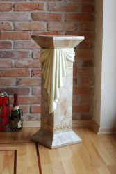 Antický sloup ,, styl Versace ,, 80,5cm