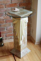 Antický sloup ,, styl Versace ,, 80,5cm Zakázková výroba