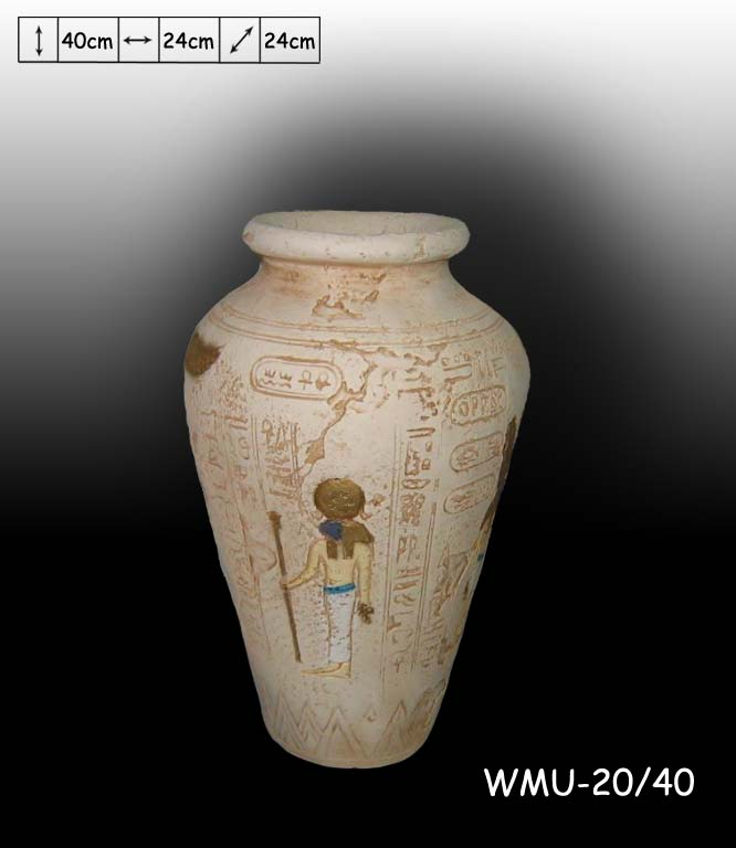 Váza Egypt ,, 40cm Zakázková výroba