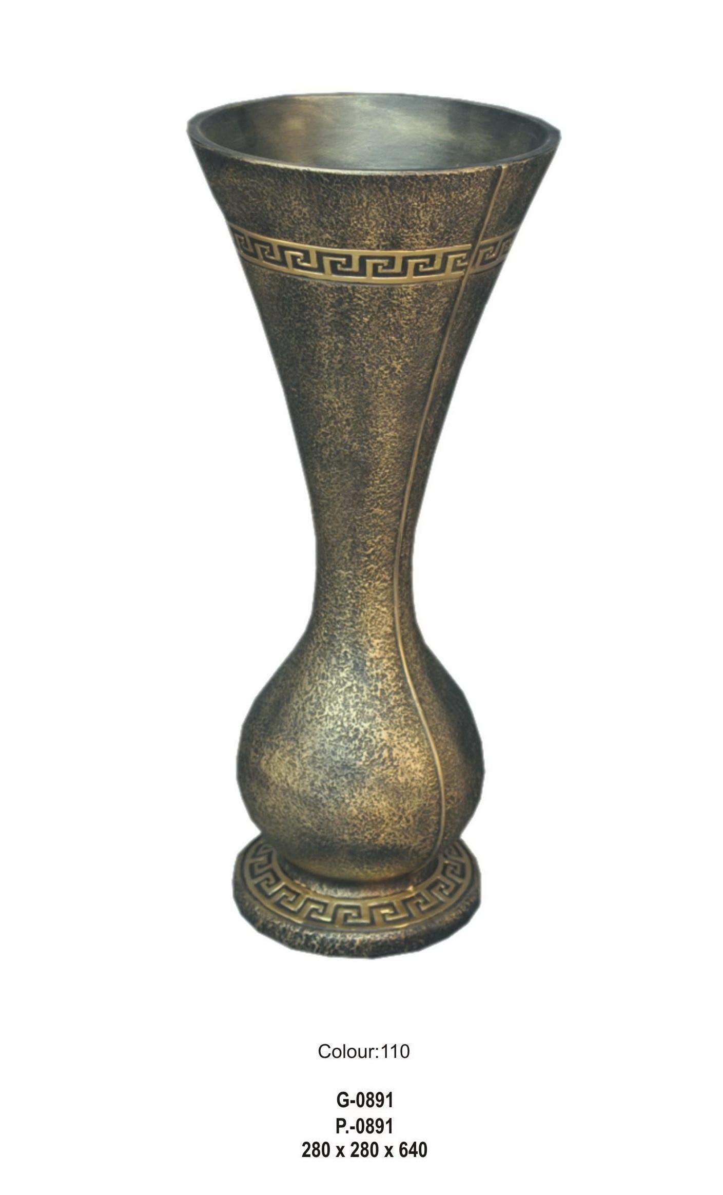 Váza / styl Versace - 64cm Zakázková výroba