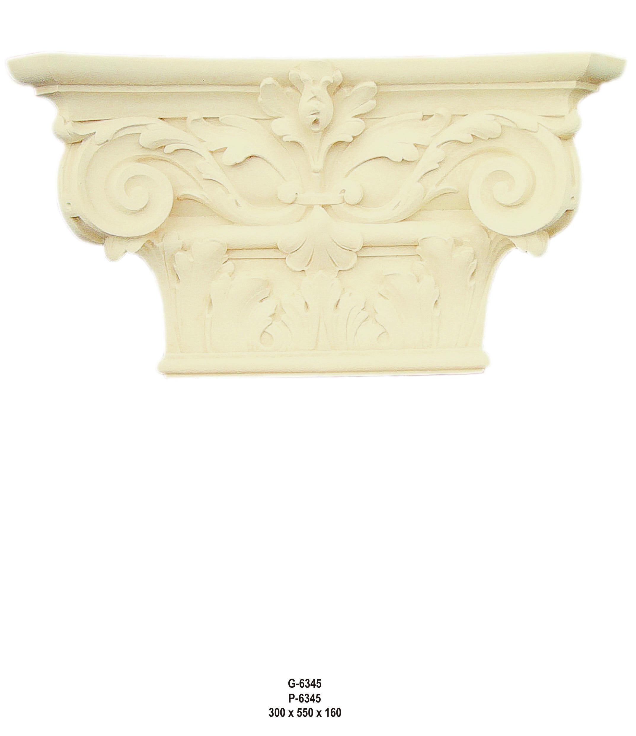 Antický dekor - hlavice Zakázková výroba