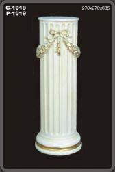 Antický dekorační sloup / 68,5cm