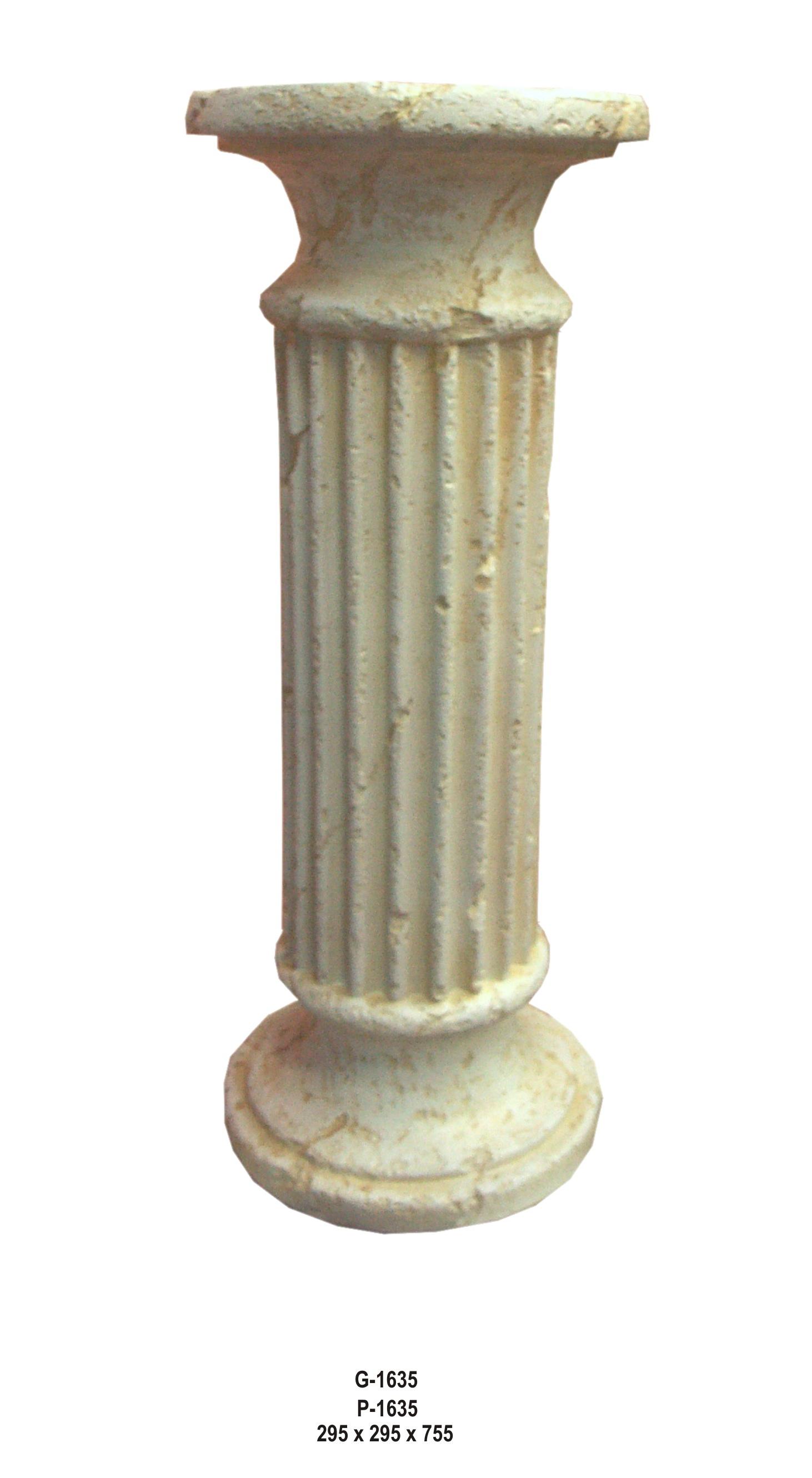 Antický dekorační sloup / 56.5cm Zakázková výroba