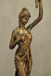 Lampa vysoká / Atický styl / 173.5 cm Zakázková výroba