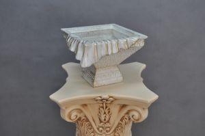 Váza s šerpou - styl Versace - Zakázková výroba