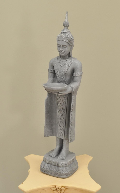 Šiva 72.5 cm - col.23 - šedý třený styl Zakázková výroba