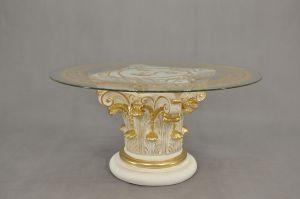 Čajový stolek - styl Versace