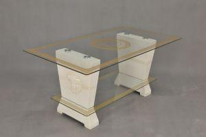 Konferenční stůl - styl Versace 130x70 Zakázková výroba