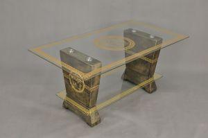 Konferenční stůl - styl Versace 130x70