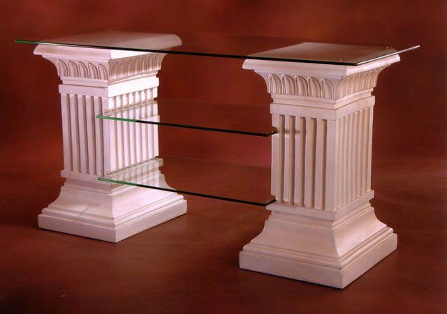 Dekorační a TV stůl ,, Antické sloupy ,,