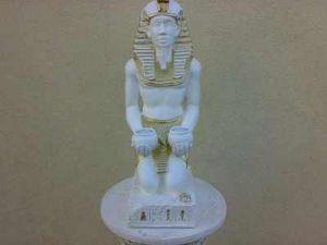 Dekorační Socha - Egypt Faraon / 55cm / Zakázková výroba
