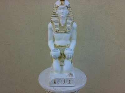 Dekorační Socha - Egypt Faraon / 55cm vysoký / Zakázková výroba