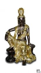 Budhistická socha velká  / 70 cm