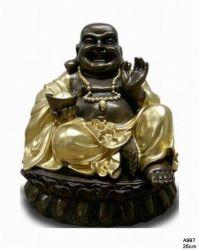 Malý Budha  s mísou  / 25 cm